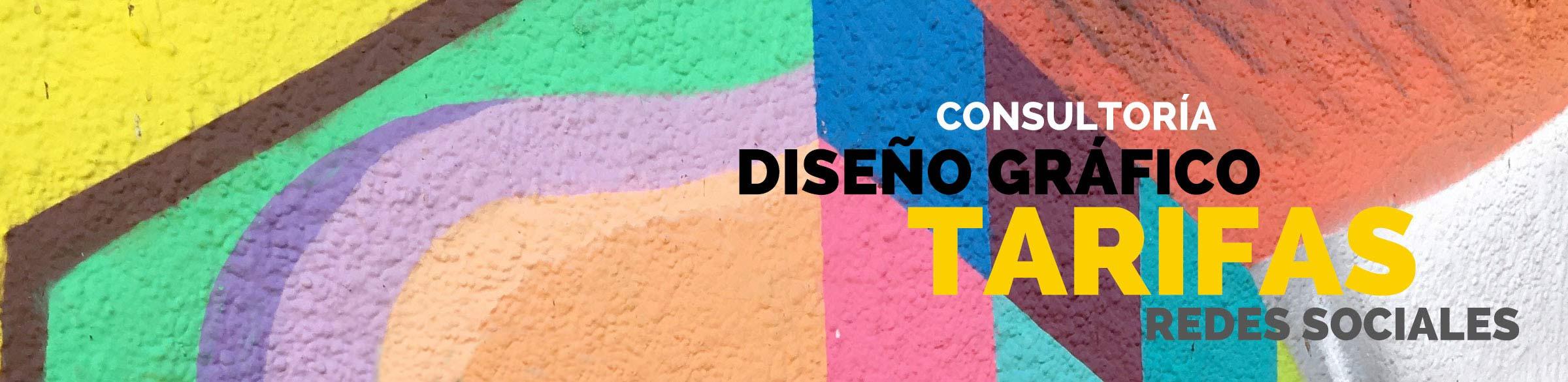 Tarifas de consultoría, diseño gráfico y redes sociales 2019